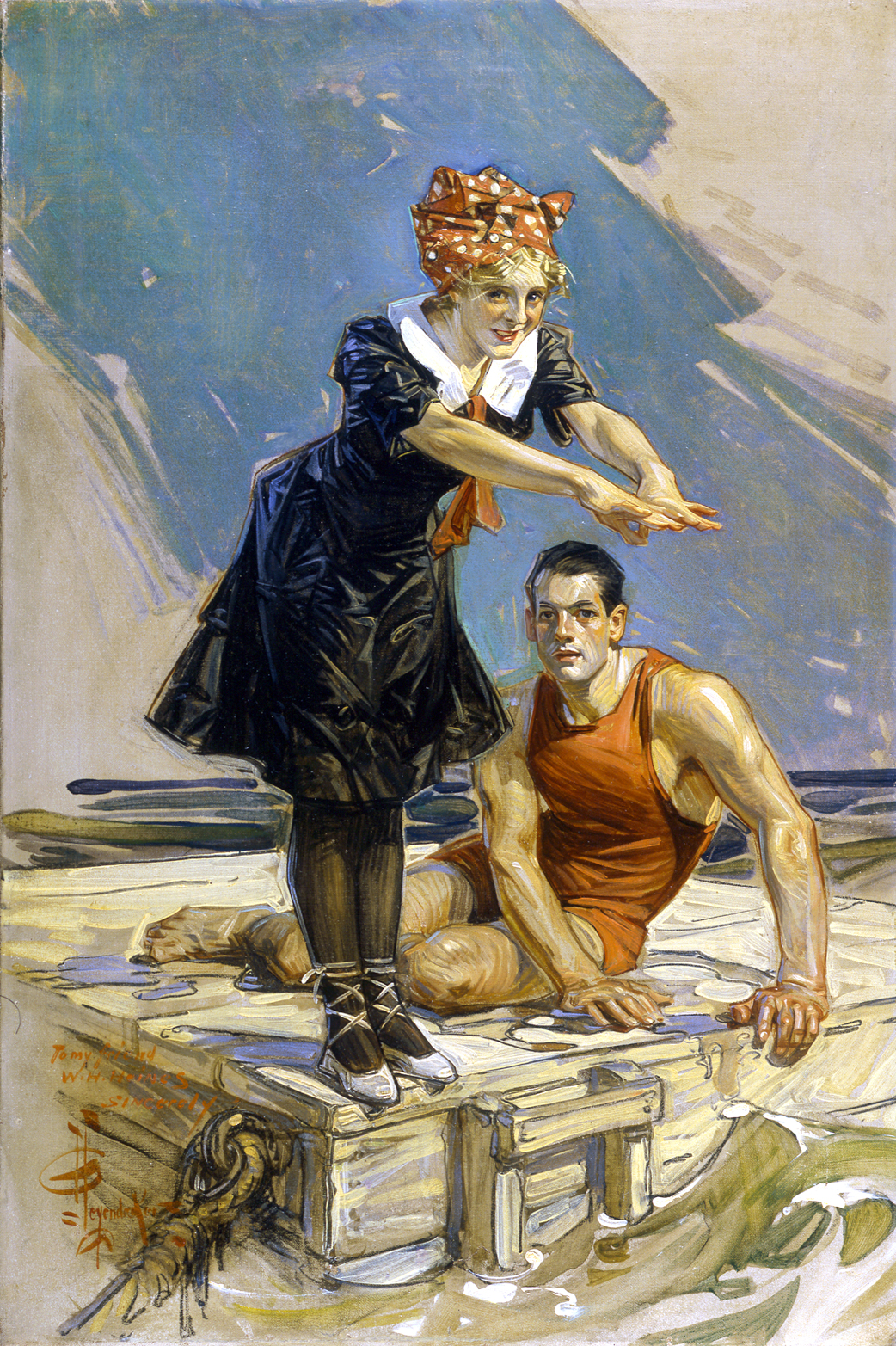 J C And F X Leyendecker Pan Art Connections Inc