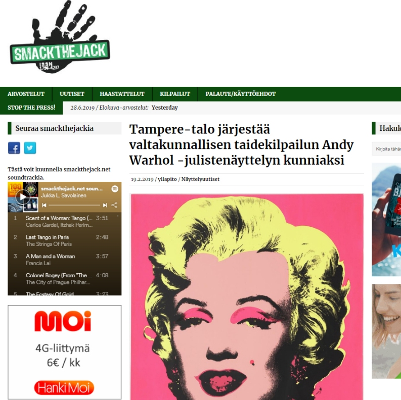 Andy Warhol Tampere Talo